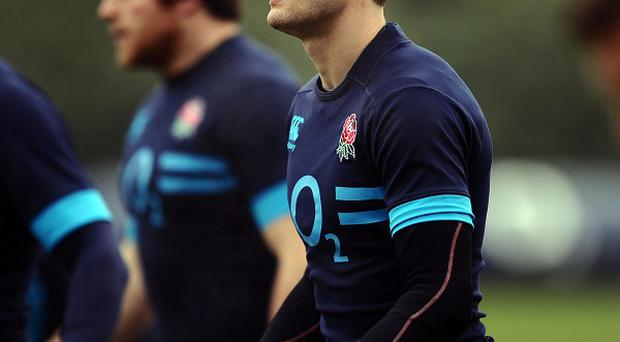 Jonny May, right, suffered a broken nose during England's defeat to France