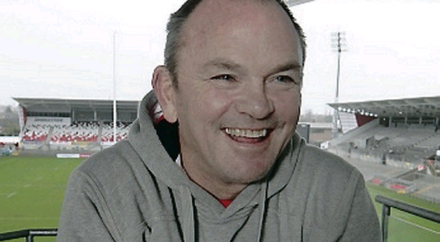 Mark Anscombe, pictured at a press conference at Ravenhill yesterday, has agreed a one-year extension to his contract as head coach of Ulster, keeping him at Ravenhill until the end of the 2014/2015 season