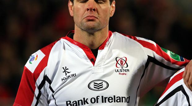 Ulster captain Johann Muller, left, will retire at the end of the season