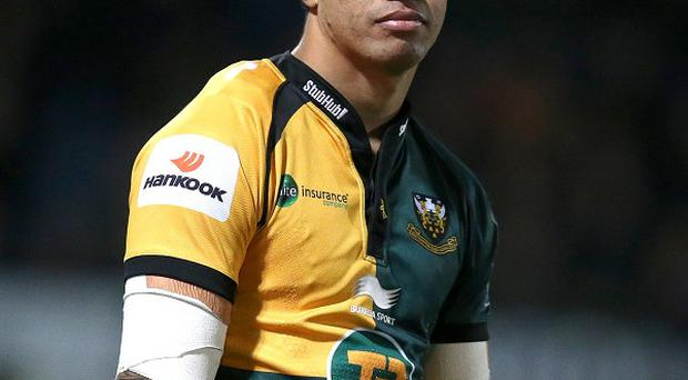George Pisi helped Northampton to victory at Exeter