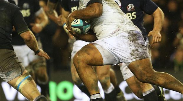 Billy Vunipola's England take on Ireland at Twickenham on February 22