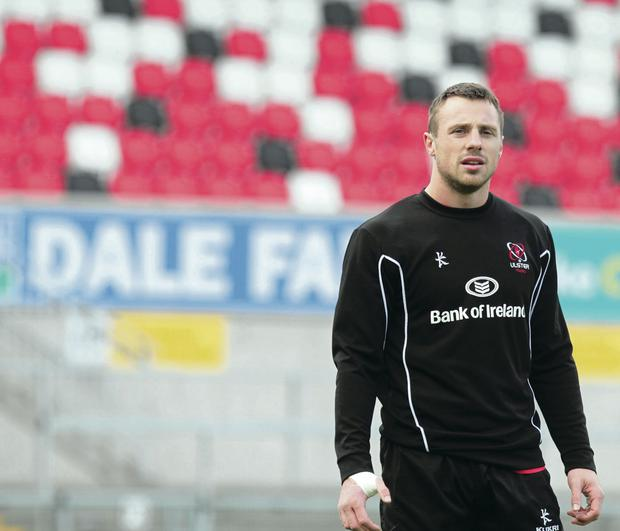 Tommy Bowe has been on the injured list since Ireland's loss to the All Blacks in November