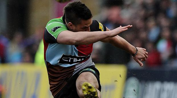 Ben Botica's two late penalties earned Harlequins victory