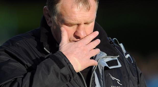 Dean Richards was disappointed his Newcastle side were beaten at Harlequins