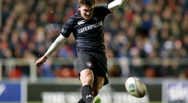 Toby Flood's late penalty saw Leicester to an 11-8 win over Gloucester