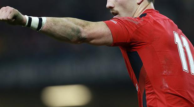 Wales wing George North, who could feature in the centre for the RBS 6 Nations clash against France on Friday night