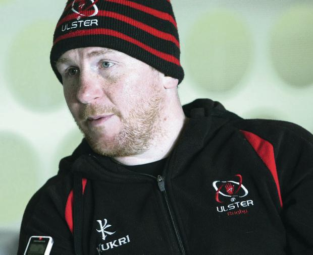 Confident: Ulster assistant coach Jonny Bell hopes for another win
