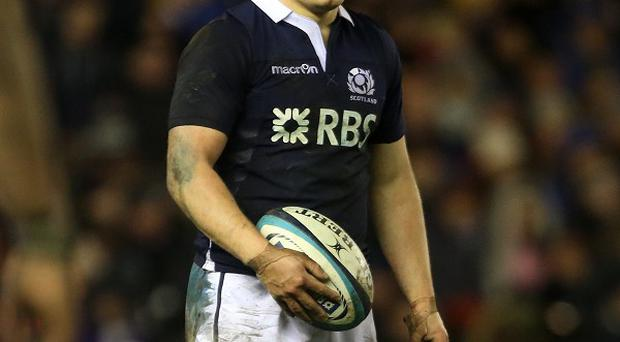 Duncan Weir is happy to scrap it out with Stuart Hogg for the Scotland number 10 jersey
