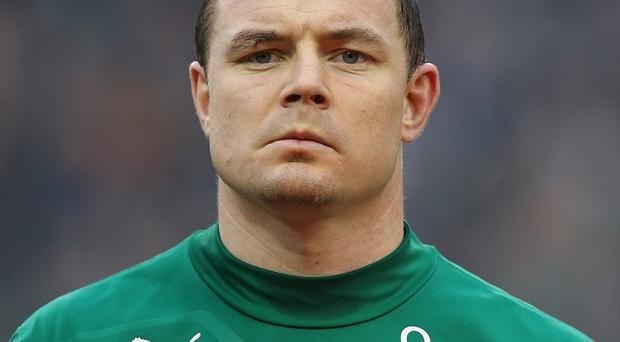 Brian O'Driscoll is set for a record-breaking appearance at Twickenham