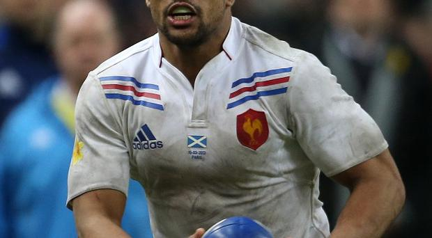 Centre Wesley Fofana, who will be a key threat for France against Wales on Friday night