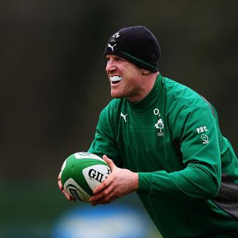 Paul O'Connell believes England have the strongest scrum in the RBS 6 Nations