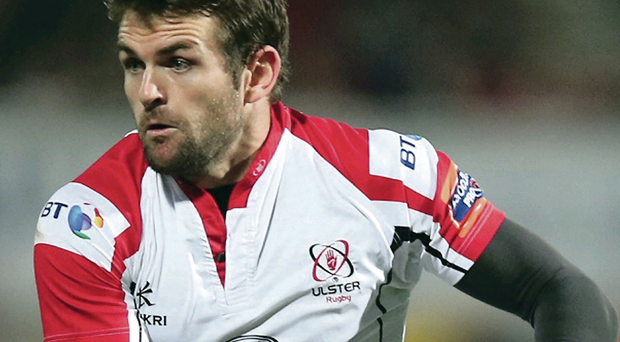 Leading man: Jared Payne's experience will be vital for Ulster in Italy on Sunday