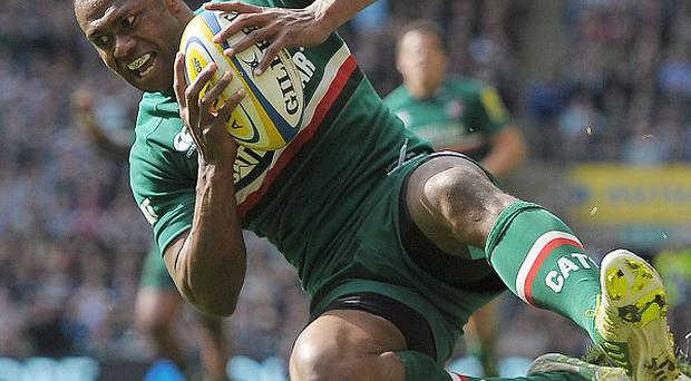 Niki Goneva went over for one of Leicester's three tries