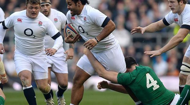Billy Vunipola, centre, faces a scan on an ankle injury