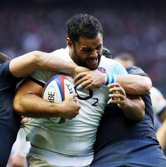 Billy Vunipola suffered an ankle injury during England's victory over Ireland
