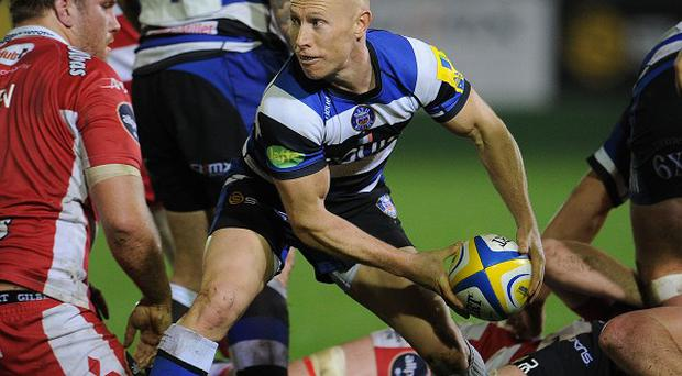 Bath scrum-half Peter Stringer in action for the Aviva Premiership title contenders