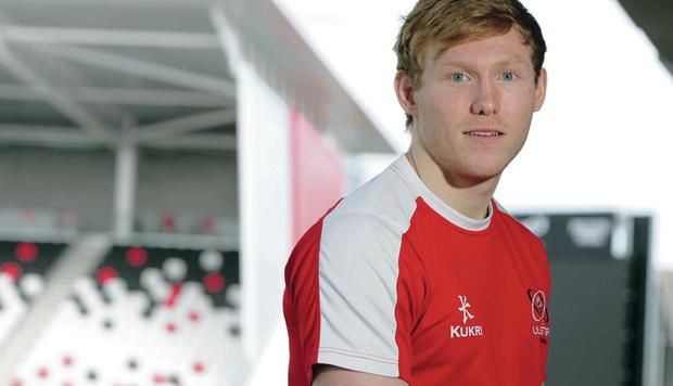 Winging it: Rory Scholes starts his first PRO12 game for Ulster tonight