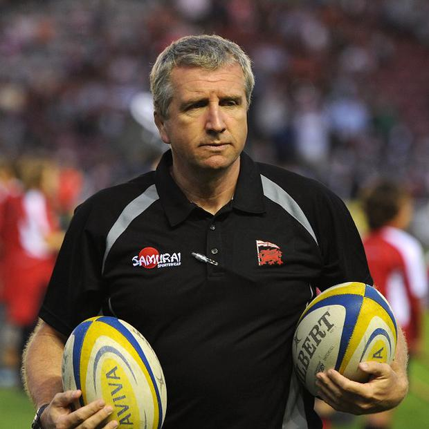 Newport Gwent Dragons rugby director Lyn Jones