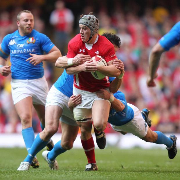 Wales centre Jonathan Davies, who will play for the Scarlets against Munster on Saturday