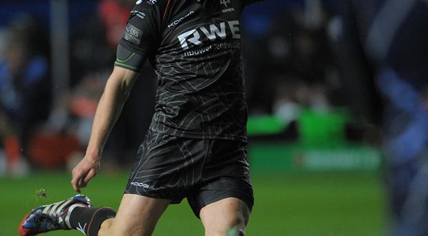 Dan Biggar's efforts with the boot were in vain for Ospreys