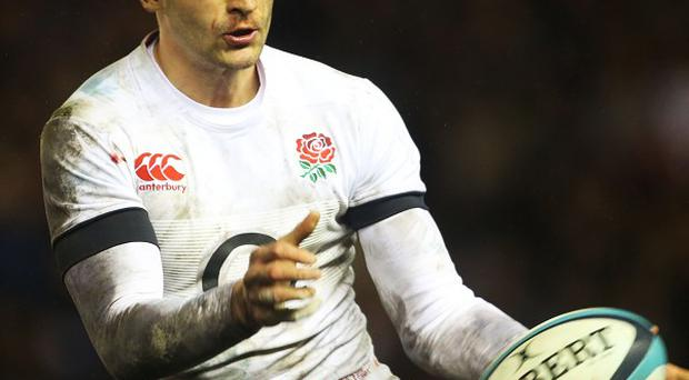 Wales star Alex Cuthbert is looking forward to catching up with England wing Jonny May, pictured.