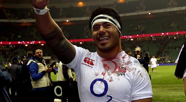 Centre Manu Tuilagi is back in the England squad