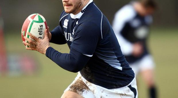 Euan Murray had been in danger of missing the whole RBS 6 Nations tournament