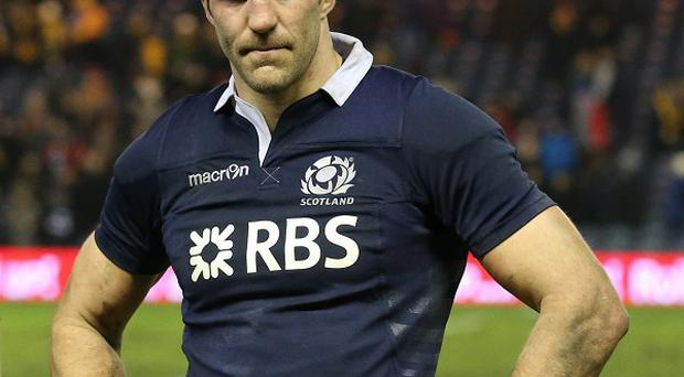 Skipper Kelly Brown has been recalled for Scotland's RBS 6 Nations clash with France on Saturday