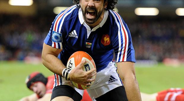 Yoann Huget will line up for France against Scotland at Murrayfield on Saturday
