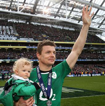 Brian O'Driscoll's glittering career deserves another Six Nations title to round it off, according to team-mates.