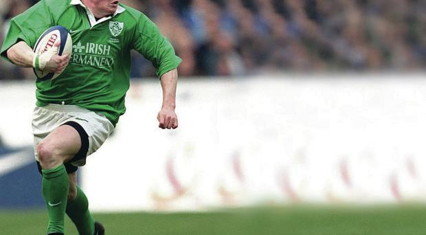 World stage: Brian O'Driscoll inspires Ireland to victory in Paris in 2000