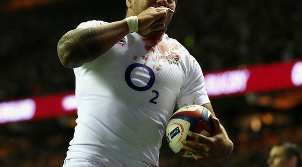 Manu Tuilagi will be on the bench for England against Italy on Saturday