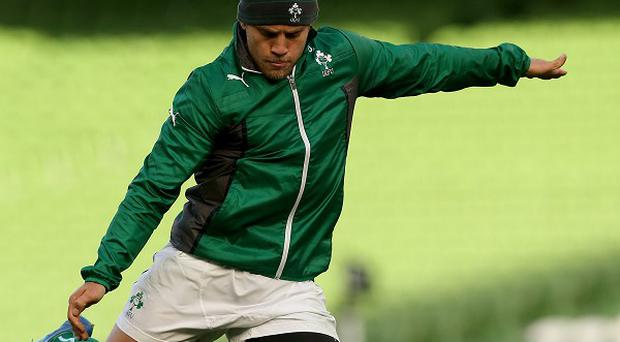 Leinster fly-half Ian Madigan is ready for action from the bench