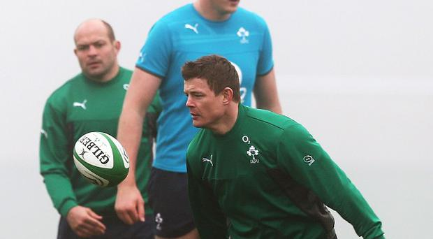 Brian O'Driscoll, front, must dominate the generation game to guide Ireland to RBS 6 Nations glory