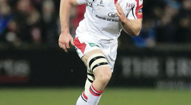 Comeback: Stephen Ferris returns to action at Ravenhill