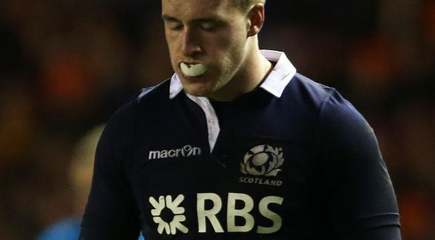 Stuart Hogg has apologised for his actions after being sent off in the RBS 6 Nations match against Wales