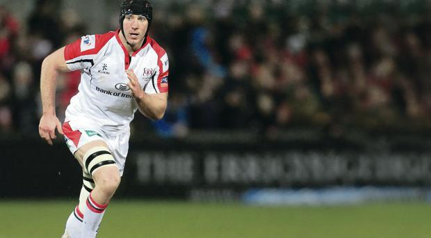 Back on stage: Stephen Ferris is fit again in time for the Saracens battle