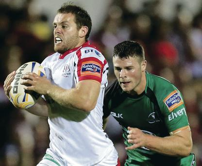 Race is on: Ulster centre Darren Cave and his Connacht counterpart Robbie Henshaw are two names in the mix to replace Drico