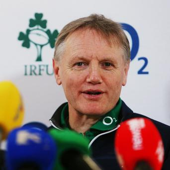 Joe Schmidt is planning when he can give new players a chance