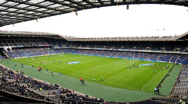 Edinburgh will have to relocate from Murrayfield while the stadium's pitch is relaid
