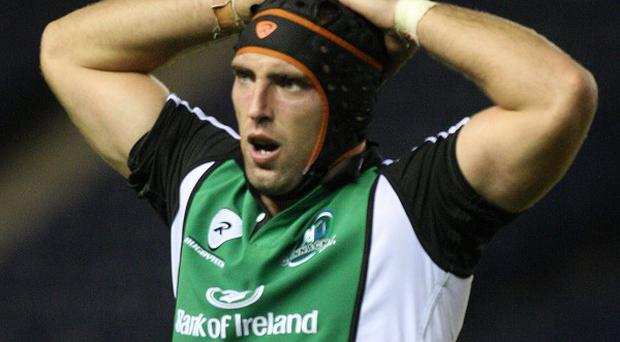 John Muldoon scored two tries for Connacht