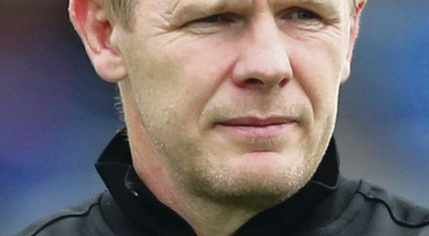 Unhappy: Saracens chief Mark McCall had player ko'd