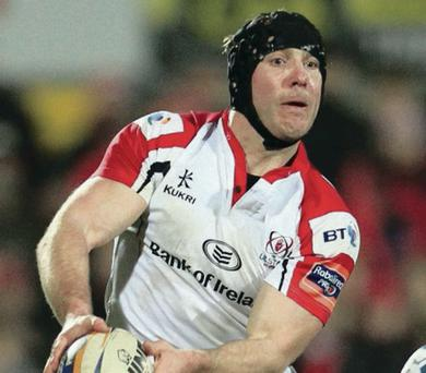 Ulster's Stephen Ferris has just made his comeback
