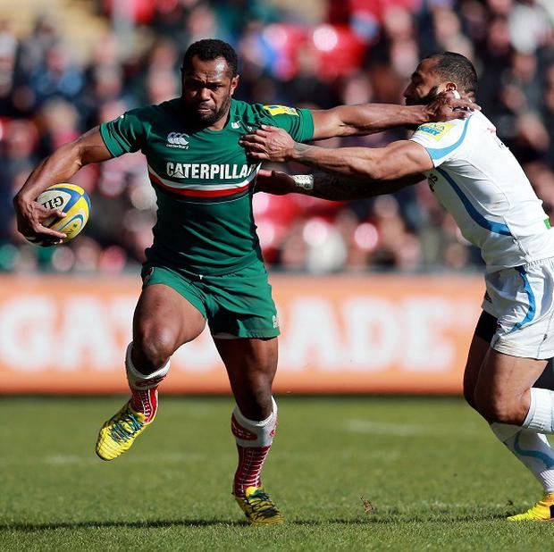 Vereniki Goneva, left, could stay at Welford Road