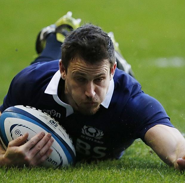 Tommy Seymour crossed over late on to win it for Glasgow