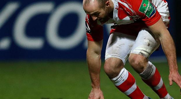 Charlie Sharples, pictured, scored for Gloucester as they beat Exeter 14-13 on Saturday