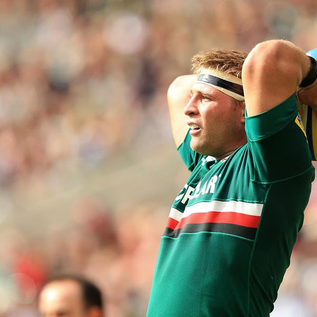 Tom Youngs complained he had been bitten on the hand against Northampton