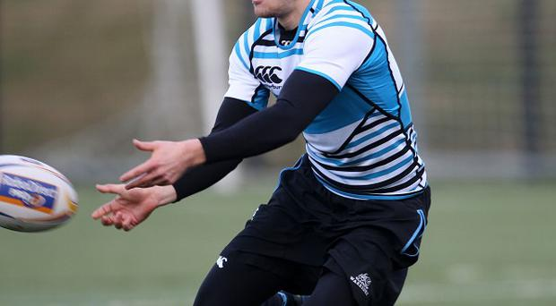 Henry Pyrgos scored two tries for Glasgow