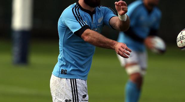 Ryan Crotty was among the try-scorers in the Crusaders' 28-7 win over the Lions