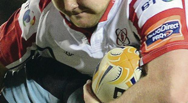 Big chance: Andrew Warwick will make his first start for Ulster